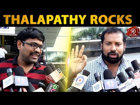 Sarkar Telugu Fans Thalapathy Vijay Stuns In Action Sequences - Telugu Sarkar First Day Response