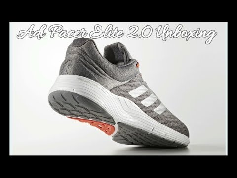 dc341f06223 Adidas Adi Pacer Elite 2.0 M Running Shoes + Unboxing - YouTube