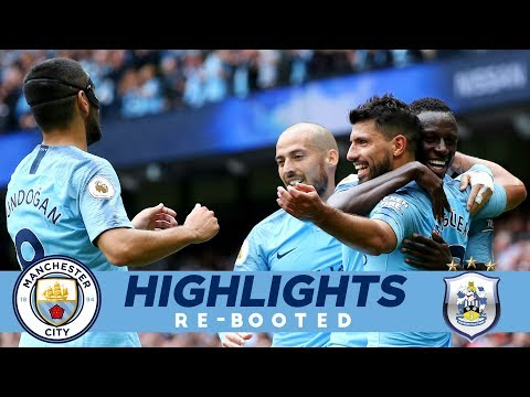 LUCKY 13! | AGUERO HAT-TRICK | MAN CITY 6 - 1 HUDDERSFIELD | HIGHLIGHTS RE-BOOTED