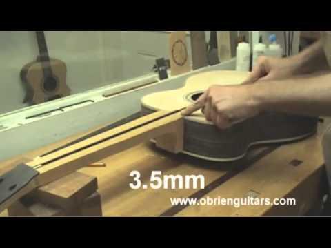 Robert O'Brien Online Acoustic Guitar Building Course  Sample Lessons