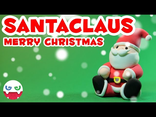 How to Make a Santaclaus with Clay [Merry Christmas]