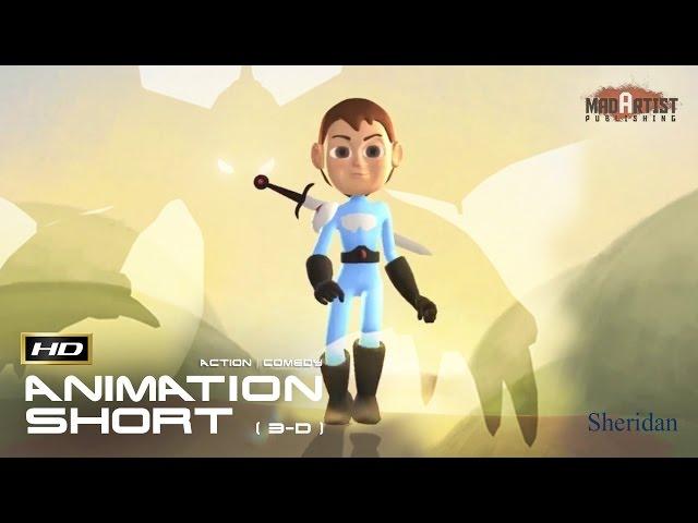 The Swordsman (HD) | Hilariously Cute way of Dragon Slaying with a tune (Sheridan)