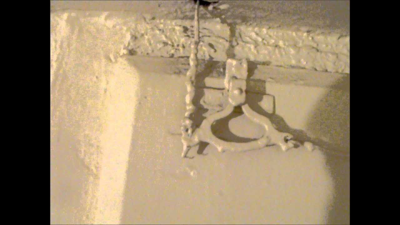 Old Victorian Door bell still working  Hawthorn Plaster Repairs  YouTube