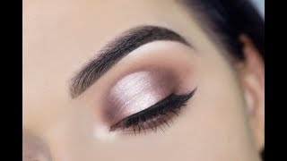 HOW TO: Cut Crease Eyeshadow for Hooded Eyes | Jaclyn Hill Palette