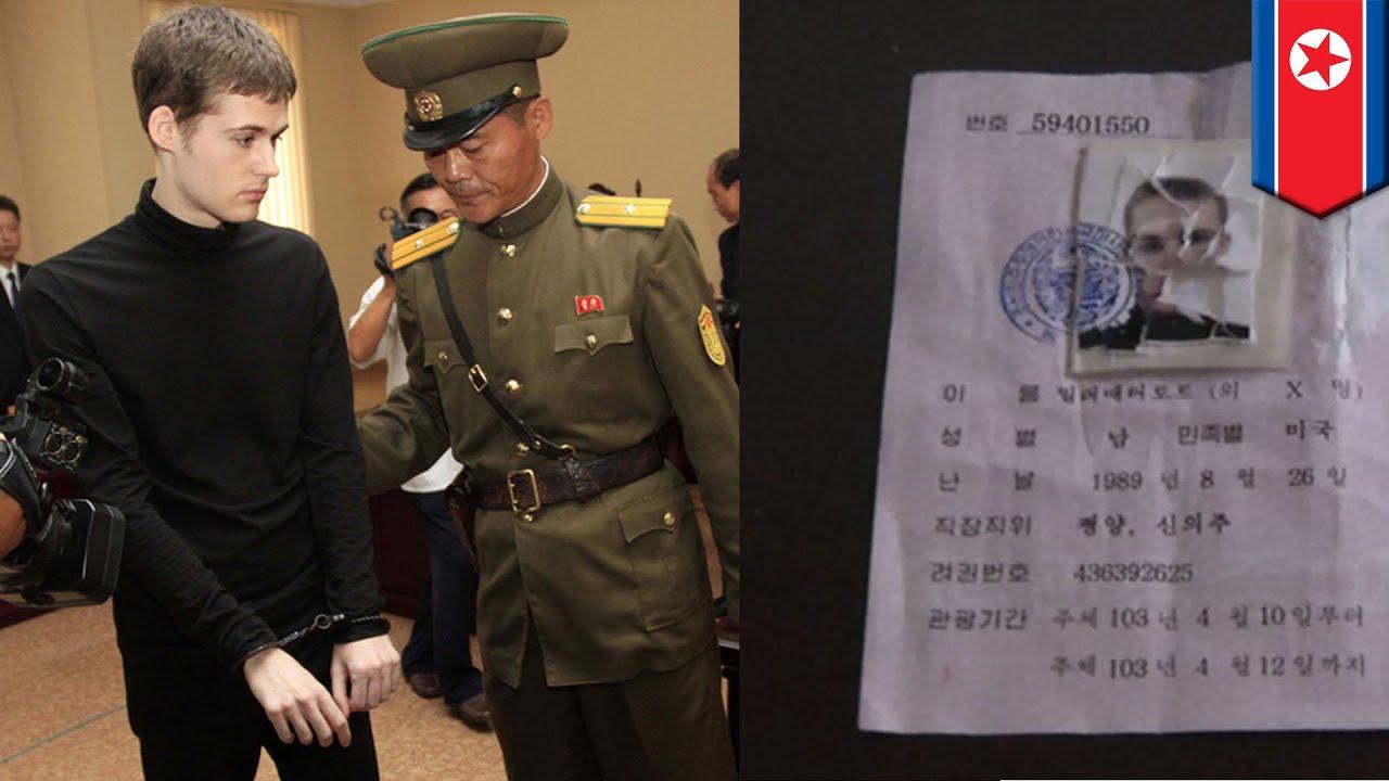 North Korea prison camp: American Matthew Miller gets 6 years hard labor for destroying visa - YouTube