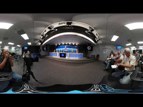 United Launch Alliance CRS-7 Pre-Launch Conference (360 4K VR)