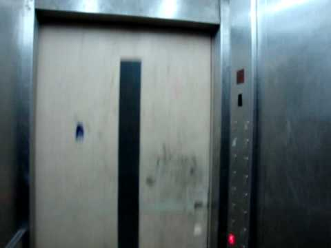 Hanz Lifts traction freight elevator/lift at Swiss Inn Nile Hotel in Cairo, Egypt