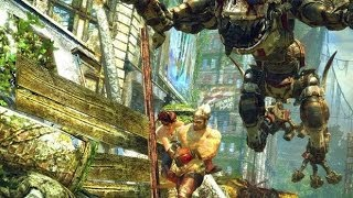 Enslaved: Odyssey To The West PC - Hard Mode Gameplay - Chapter 4 part 1/2