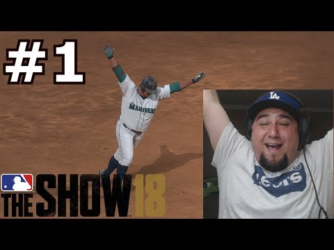 MY AMAZING FIRST TIME PLAYING MLB THE SHOW 18   MLB The Show 18   BENNY NO