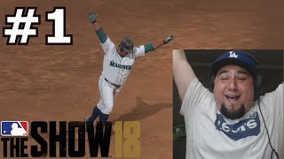 MY AMAZING FIRST TIME PLAYING MLB THE SHOW 18 | MLB The Show 18 | BENNY NO