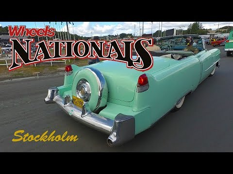 Classic American Car Parade | Wheels Nationals Stockholm 2017 | The Arrival