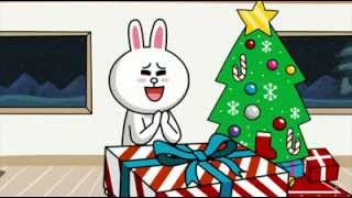 LINE - Merry Christmas  Happy New Year 2013