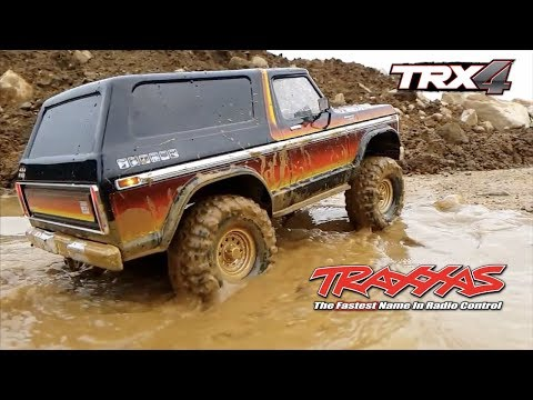 Ford Bronco On Mud with RC PLAY GROUND