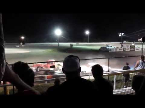Grayson County Speedway Crash July 18, 2015