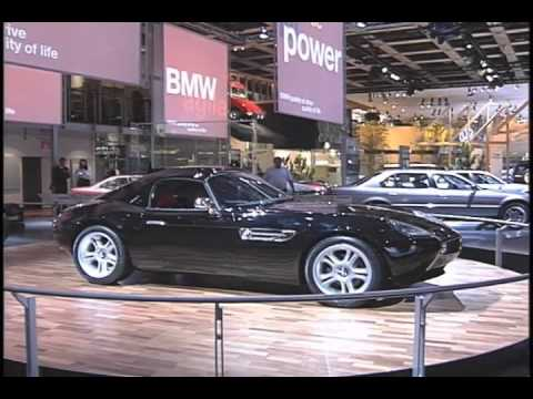 BMW Z07 Concept Car Detroit Auto Show 1998 - YouTube