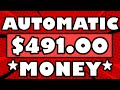 🔥 Make $491.00+ in Your FIRST Day With This 1 AUTOMATIC Trick! 😍 (Make Money Online)