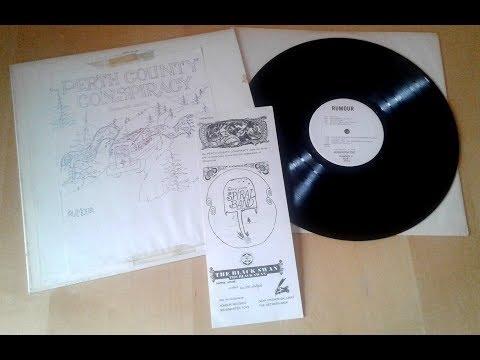 PERTH COUNTY CONSPIRACY Rumour RARE 1973 Private Press ACID PSYCH FOLK LP ISB £100
