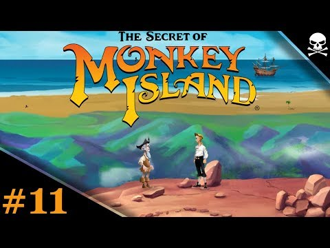 THE SECRET OF MONKEY ISLAND 11  Hermans seltsame Kunst  Let's Play Deutsch