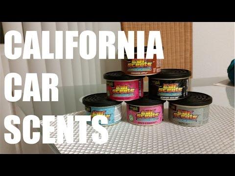 California Car Scents Duftdose für das Auto und die Wohnung