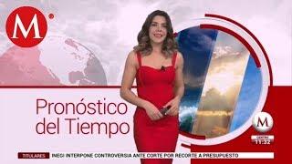 El clima para hoy 14 de febrero, con Marilú Kaufman