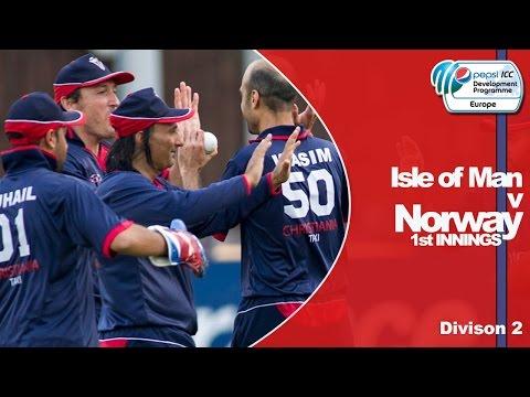 Isle of Man vs Norway - Norway Innings - Pepsi ICC Europe Division 2