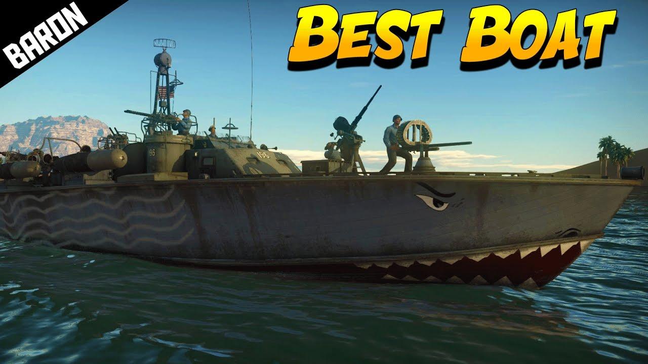 The Best Boat in War Thunder Ships CBT