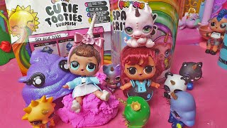 Poopsie Cutie Tooties Surprise e Sparkly Critters 🦄💩 Famiglia riunita! 👭 [Unboxing]