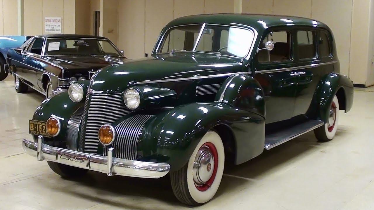 1939 cadillac fleetwood limousine youtube. Black Bedroom Furniture Sets. Home Design Ideas