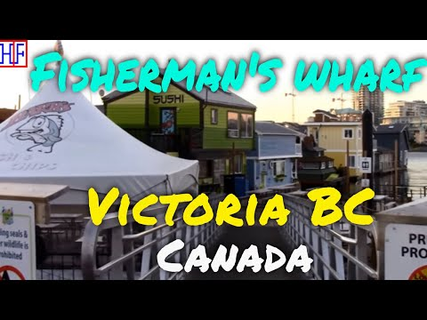 Victoria BC | Fisherman's Wharf | Travel Guide | Episode# 12