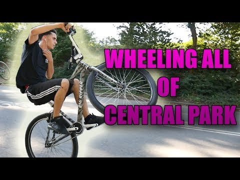 WHEELING ALL OF CENTRAL PARK!
