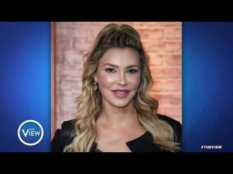 Brandi Glanville Slams Gerard Butler  The View
