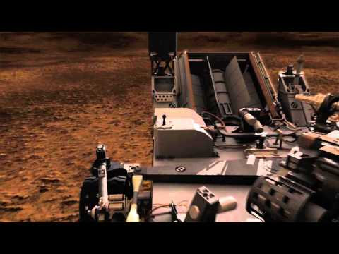 Next Mars Rover in Action-Animation