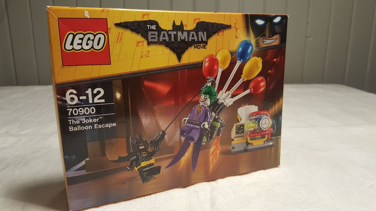 Lego Batman Movie 70900 Balonowa Ucieczka Jokera Majster Klockuje