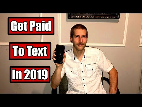🔥 How To Make Money On Your Phone 2019 - Get Paid To Text🔥