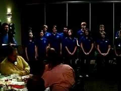 Carlsbad High School Choir sings for Rotary Club
