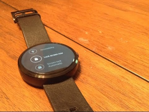 How to set Passcode on Android Wear