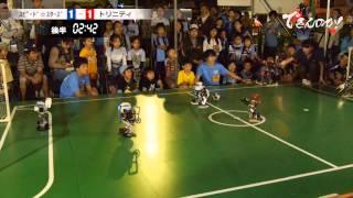 """ROBOT SOCCER """"FRONTALE CUP"""" - TRINITY VS SPEED STARS -"""