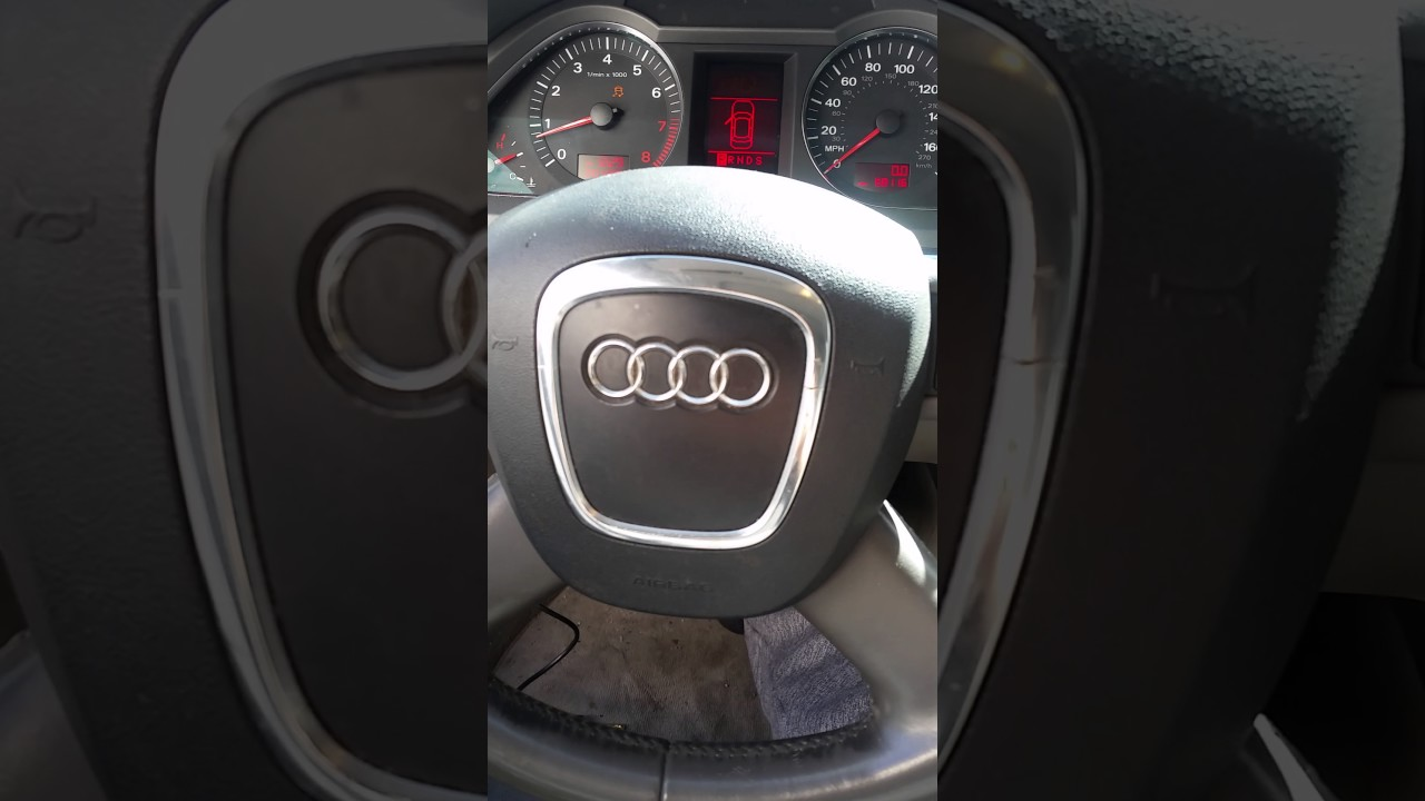 06 Audi A6 ignition problem solved