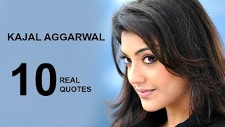 Kajal Aggarwal 10 Real Life Quotes on Success | Inspiring | Motivational Quotes