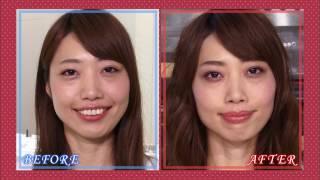 【BeauTV ~VOCE】12/16 Beauty Book「宮田聡子のようなふんわりアイメーク」 宮田聡子 検索動画 27