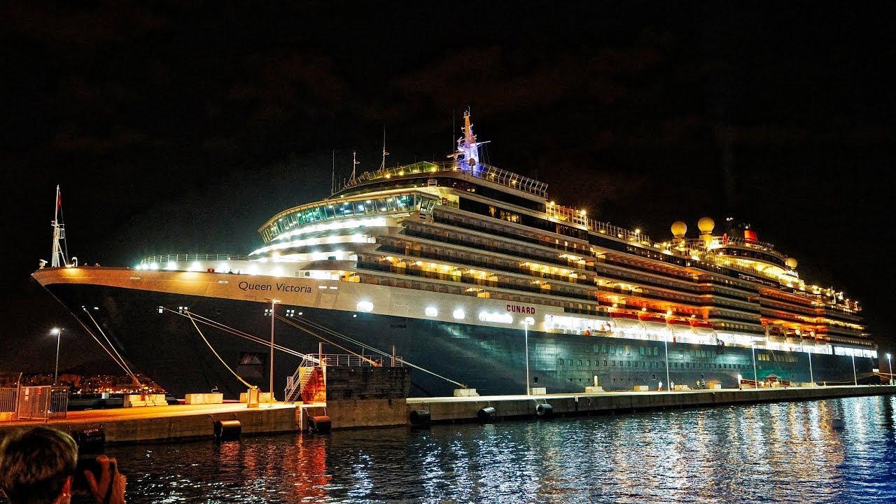 Cunards Queen Victoria Mediterranean Cruise In UHD K Using Sony - Tracking queen victoria cruise ship