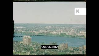 Boston in Summer, 1960s Massachusetts, USA Home Movies, HD