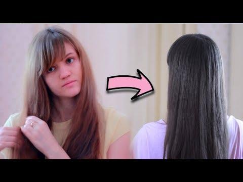 Тонирование волос в пепельно-русый цвет 💁