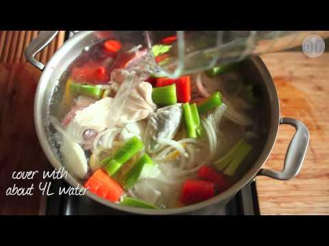 How to Make White Fish Stock