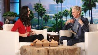 Ellen's BFF, Olivia Munn