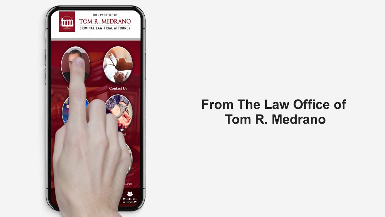 Handy Lawyer In Your Pocket - The Law Office of Tom Medrano