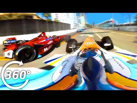 360° Race Highlights - Formula E (Long Beach ePrix)
