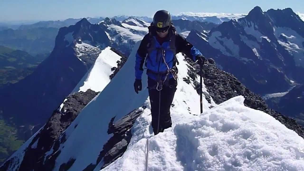 Arriving at the summit of the eiger 3970m swiss alps youtube arriving at the summit of the eiger 3970m swiss alps reheart Images