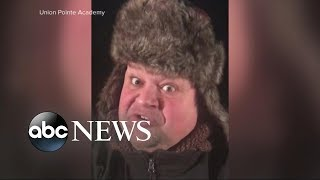 School principal singing snow day alert goes viral