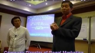 Lawrence Walter Seminars - Regal Marketing (Indocafe) - Dr.Lawrence Walter Ng
